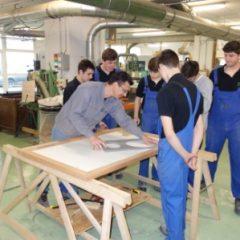 Lycée de Navarre - Atelier bois - 1