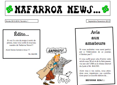 Lycée de Navarre - Journal - 3