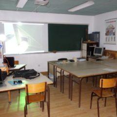 Lycée de Navarre - Salle bois - 1