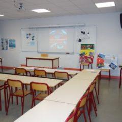 Lycée de Navarre - Salle de cours - 1
