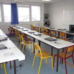 Lycée de Navarre - Salle informatique - 1