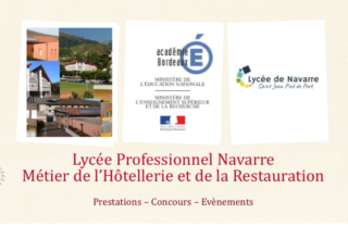 lycee navarre filiere restauration concours 2019/2020 - image